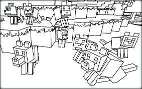 Minecraft Herobrine Coloring Page Coloring Pages To Print Large Size