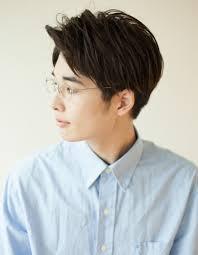 メンズ30代メガネショート髪型ny 116 ヘアカタログ髪型ヘア