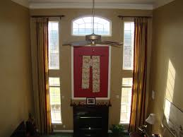 Two Story Living Room Curtains Two Story Family Room Curtains Window Treatments Pinterest