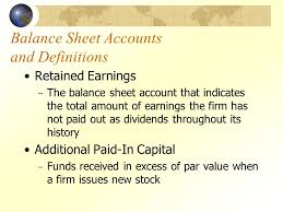 definitions of balance sheet common stock and the investment banking process ppt video online