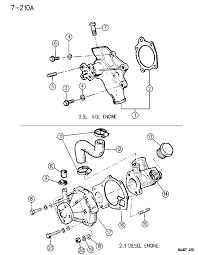 1998 Jeep Grand Cherokee Front End Diagram