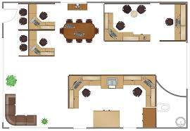 Office floor plan design Rectangle Conceptdrawcom Office Design Software