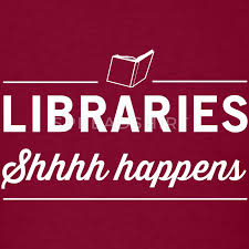 Image result for shhh it's a library