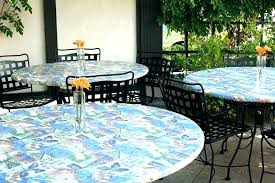 round outdoor tablecloth with elastic fitted vinyl table cloth tablecloths umbrella hole rou