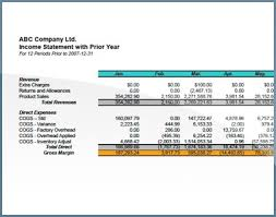 Income Statement Financial Reporting Financial Reporting