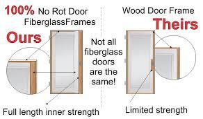 fiberglass entry doors better than wood