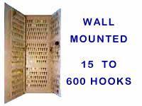 Wall Mounted Key Storage