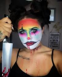 18 terrifying clown makeup looks that will give you nightmares