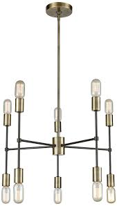 dimond 1141 027 up down century modern antique brass oil rubbed bronze mini chandelier lamp loading zoom