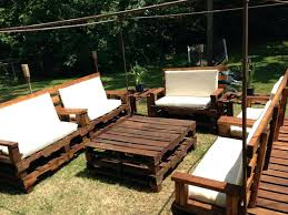 outside furniture made from pallets. Garden Furniture Made Out Of Pallets Pallet Cushions Ideas Chair Outside From D