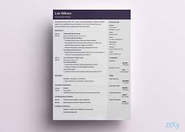 Modern Resume Templates 2018 Contemporary Resume Template Resumes