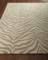 zebra brown rug zebra rug 4 x 6 zebra print rug brown and cream