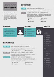 Indesign Template Resume The Best Cv Templates Examples Design