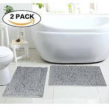 bathroom rugs flamingo p super soft microfiber bathroom rugs non slip bath mat for
