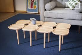 kädri wooden coffee table solid ash