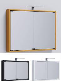 Spiegelschrank Badmöbel Badezimmer Badezimmerschrank Hängeschrank