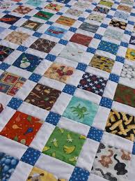 53 best Quilts - Disappearing blocks images on Pinterest ... & The I Spy Disappearing Nine Patch is a great idea for kids quilt patterns  because it serves as entertainment and style. Made with disappearing nine  patch ... Adamdwight.com