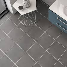 dark grey ceramic satin floor tile image dark grey bathroom tiles i87 tiles