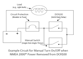 knowledge base questions the third diagram shows a double pole triple throw dp3t switch added to the circuit this switch allows the dcr100 to work in its normal mode under