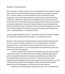 Example Of Argument Essays Example Of An Argument Essay Under Fontanacountryinn Com