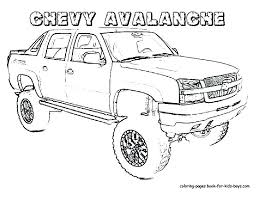 pickup truck coloring pages cars and trucks of truc