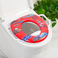 Features Children Soft Padded Portable Potty Training Seat With