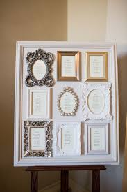 Picture Frame Seating Chart Unique Wedding Reception Ideas On A Budget Frame On Frame
