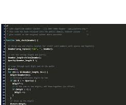 It uses the luhn algorithm checker protocol to achieve that. Php Credit Card Validation Code Example