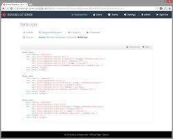 Bonobo Git Server - Screenshots