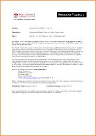 Librarian Cover Letter Good Resume Examples
