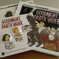 goodnight darth vader book pin set giveaway
