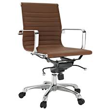 eames ribbed chair tan office. Ribbed Vinyl Executive Office Chair Low Back Or High MANY COLORS Eames Style Tan
