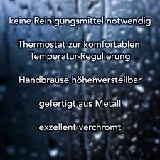 Frankenberg Duschgarnitur Erholung 85 Thermo
