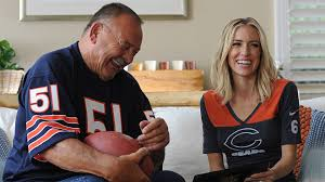 Drafts Still Bears Butkus Sporting 50 Later In News Dick Grinning Chicago For
