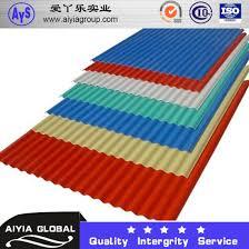 ral9003 ppgl color coated galvalume corrugated roof sheet wave tile