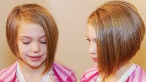Little Girl Hair Style how to cut an asymmetrical aline girls hair tutorial moda 1211 by wearticles.com