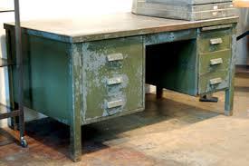vintage steel furniture. Interesting Steel Vintage Steel Desk Professional Steel Desk Experience Metal  Furniture For The Contemporary Worker On A