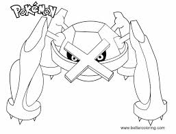 Coloring Pages To Print Pokemon With Beautiful Pokemon Coloring