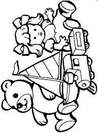 Small Picture Toys Coloring Pages