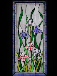 image of stained glass interior french doors