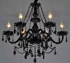 black chandelier diy but all white to hang above the altar i