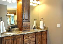 bathroom track lighting simple track lighting with rustic bathroom mirror cabinet using sleek towel rail for