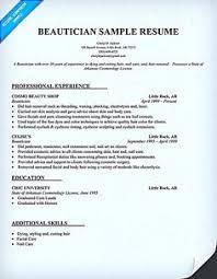Cosmetology Instructor Resume Sample Http Www Resumecareer Info