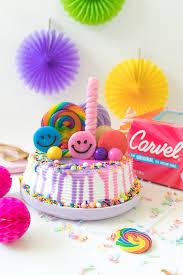 Rainbow Freak Cake Ice Cream Cake Hack Club Crafted