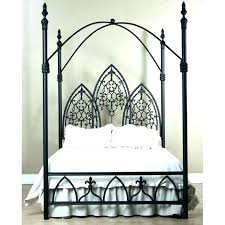 king size metal canopy bed frame – healthfitness.site