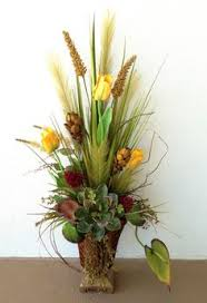 spring arrangement designed by arcadia floral home decor