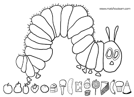 Small Picture The Very Hungry Caterpillar Coloring Page Hungry Chuckie Very