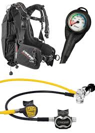 Cressi Travel Light Package Travel Scuba Package