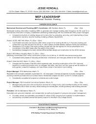 Example Oshpd Construction Project Management Resume Perfect