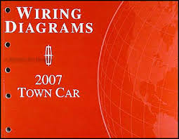 2007 lincoln town car original wiring diagrams